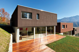 coated house