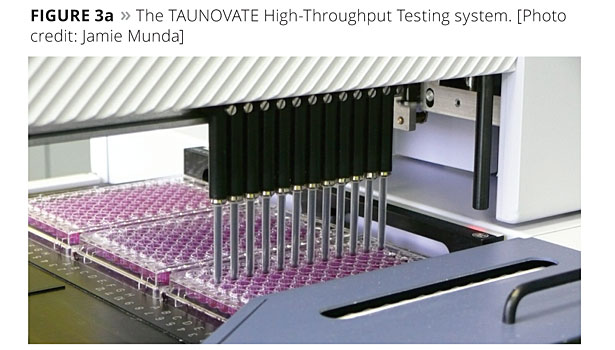 taunovate testing system