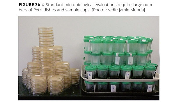 microbiological evaluations