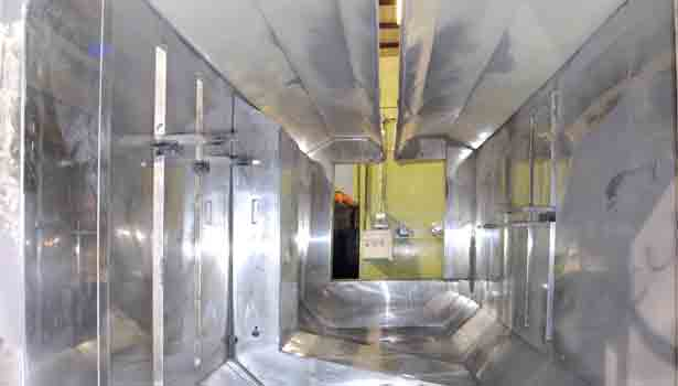 Pre-Owned Powder Coating System Helps Manufacturer Eliminates Solvents from Finishing Process