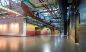 Decorative Yet Functional Concrete Floor Coating Helps Restore Historic Building