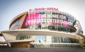 Custom Color Coatings Culminate in Iconic Façade for New T-Mobile Arena