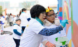 Colorful Communities Project Revitalizes Primary School in China