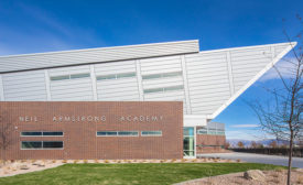 High-Performance, Three-Coat System Coats Metal Panels for Neil Armstrong Academy Project