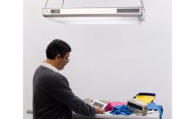 Multi-Source Overhead Luminaires for Large Sample Visual Evaluation