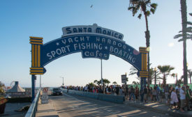 Sign of the Times: Santa Monica Pier Entrance Refreshed for Next Generation