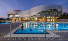 Coated Metal Panels Add To Wavy Exterior At UC-Riverside