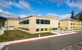 Prepainted Metal with Graffiti-Resistant Coating Provides Industry-First Protection for School Building