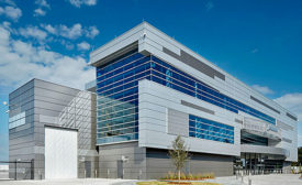 Metal Design and Sleek Coatings Provide Air-Like Aesthetic for Renovated Boeing Facility