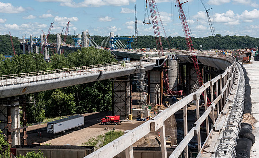 Corrosion-Inhibiting Powder Protects Bridge Cables During Construction