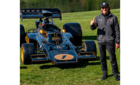 HMG Assists with Restoration of Iconic Team Lotus Race Car