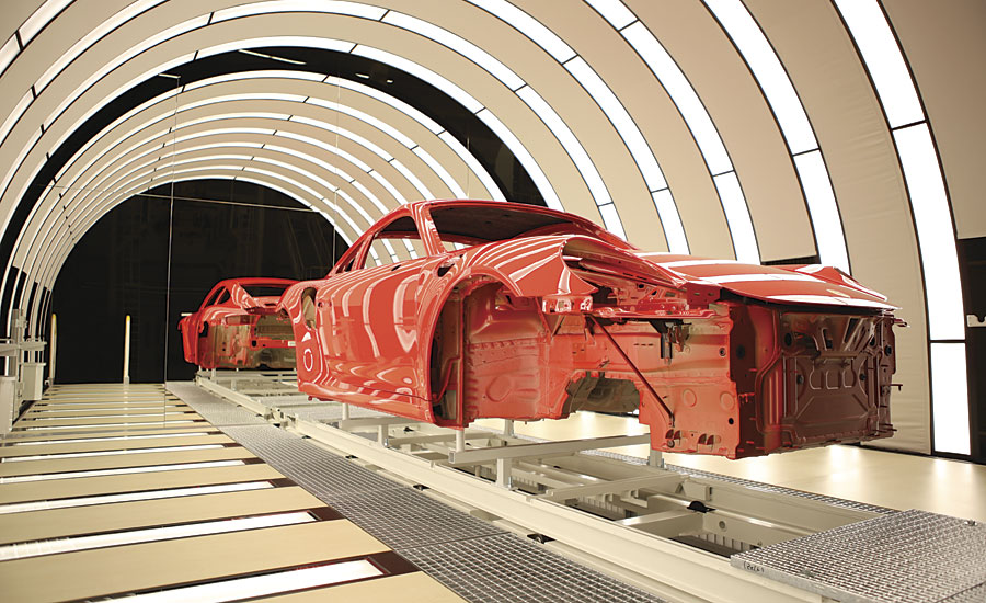 Car Paint Shop >> Paint Shop 4 0 Innovations For Greater Quality Flexibility And