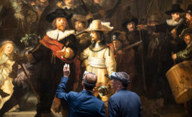 AkzoNobel Partners with the Rijksmuseum for Live Restoration of Rembrandt's Night Watch