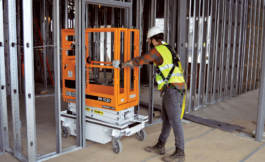 Winning the Safety Race with Scissor Lifts