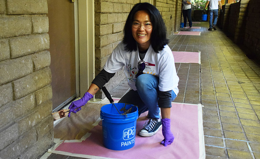 PPG Completes COLORFUL COMMUNITIES Project at Union Rescue Mission Facility in Sylmar, California