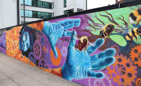 [HMG Paints Support Manchester Homeless Mural