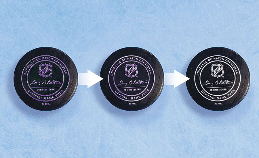 hockey puck coating
