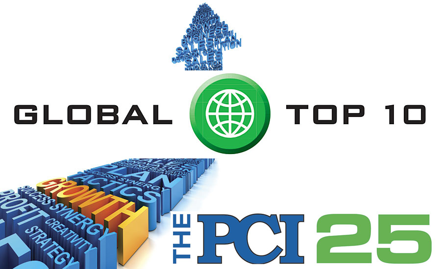 Global top 10 pci 25