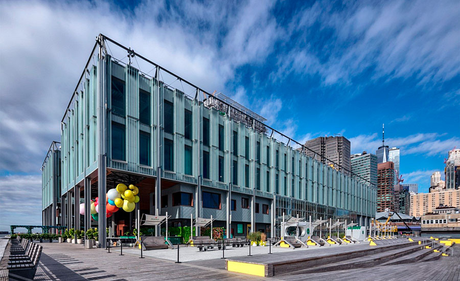 Powder Coatings Featured on New York's Newly Redesigned Pier 17