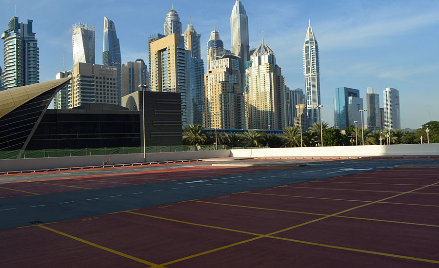Dubai Development Chooses Sherwin Williams Car Park Deck