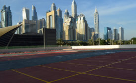Dubai Development Chooses Sherwin-Williams Car Park Deck Coating System