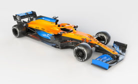 AkzoNobel Puts the Cool into McLaren's Stylish New Formula 1 Car