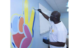 PPG Leaders Brighten Miami School through COLORFUL COMMUNITIES Project