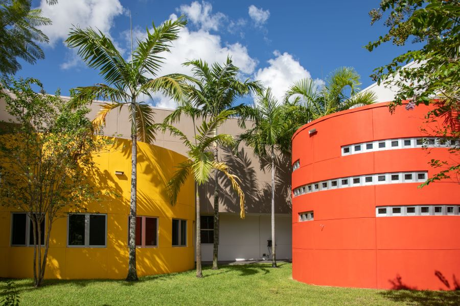 Façade Restoration Coatings Give Children's Center a Bright and Welcoming Upgrade