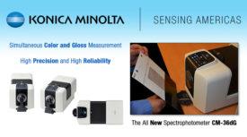 Spectrophotometer CM-36dG from Konica Minolta Sensing