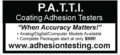 P.A.T.T.I. Coating Adhesion Testers
