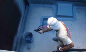 Chemline concrete coating