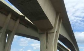 A new bridge crossing the Mississippi River between Wisconsin and Minnesota features a special textured coating product by Florida-based TEX∙COTE