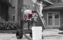 Elite 3500 gas-powered, sealed hydraulic paint sprayer