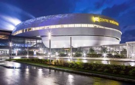 DURANAR XL Coatings by PPG Add Brilliance to Centre Vidéotron
