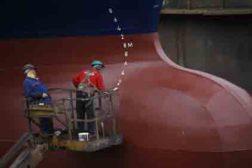 Hempel anti-fouling coating