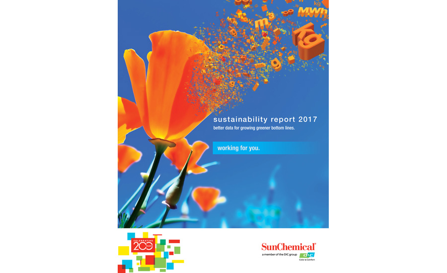 SunChemical 2017 Sustainability Report
