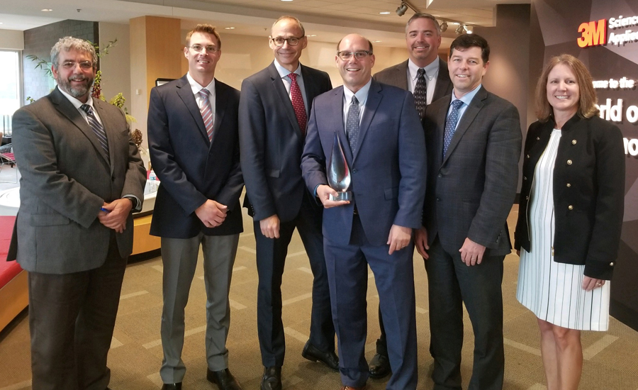 BASF receives 3M supplier award