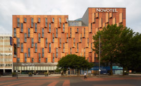 Novotel Hotel with Beckers Coil Coatings