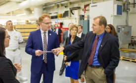 Sherwin-Williams Hosts Under Secretary of the Navy During Cleveland Navy Week