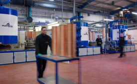 Coating reactors at Hardide Coatings' UK production facility