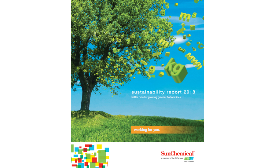 Sun Chemical sustainability report