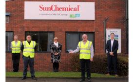 BCF Coatings Care Progress Award to Sun Chemical