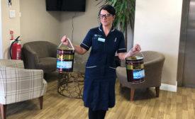 HMG Paints hand sanitizer