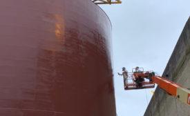 marine coatings protect oil platform