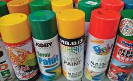 Lead in spray paint
