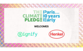 Henkel and The Climate Pledge