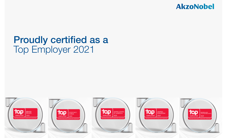 AkzoNobel Top Employer