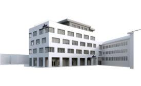 Rendering of Allnex Research and Development center in Wellendorf