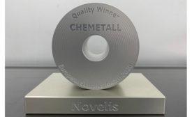 European Supplier Award from Novelis