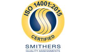 SIFCO ASC receives ISO 14001:2015